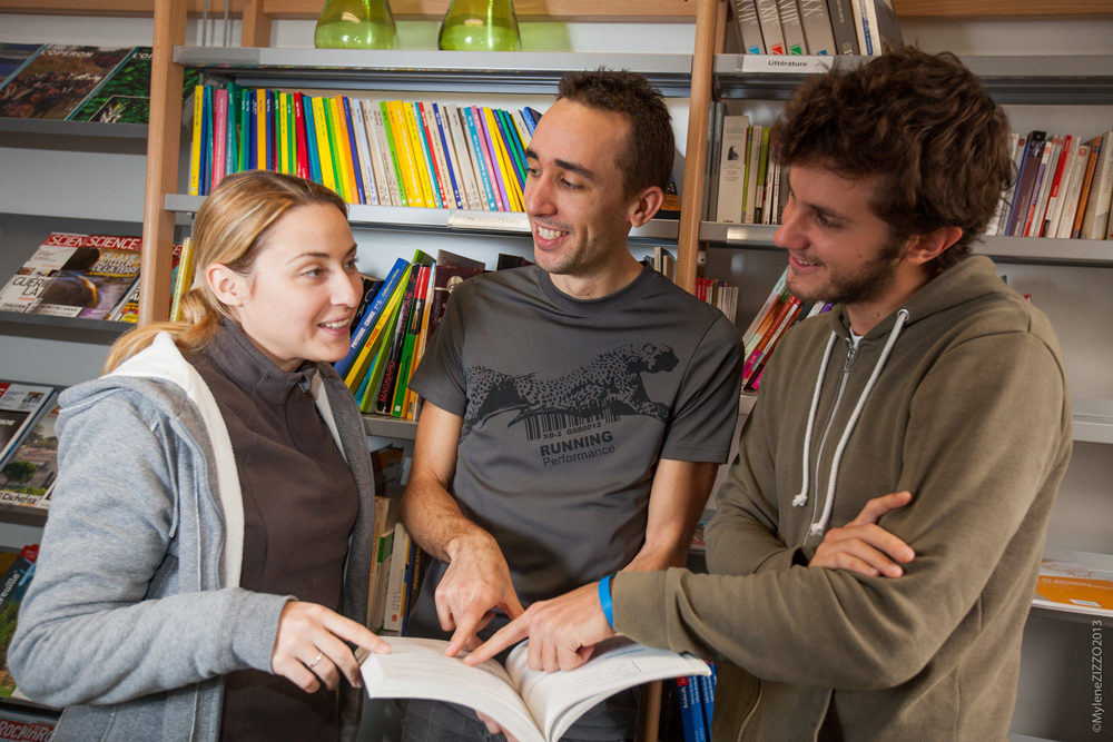 Élèves Lycée La Forbine
