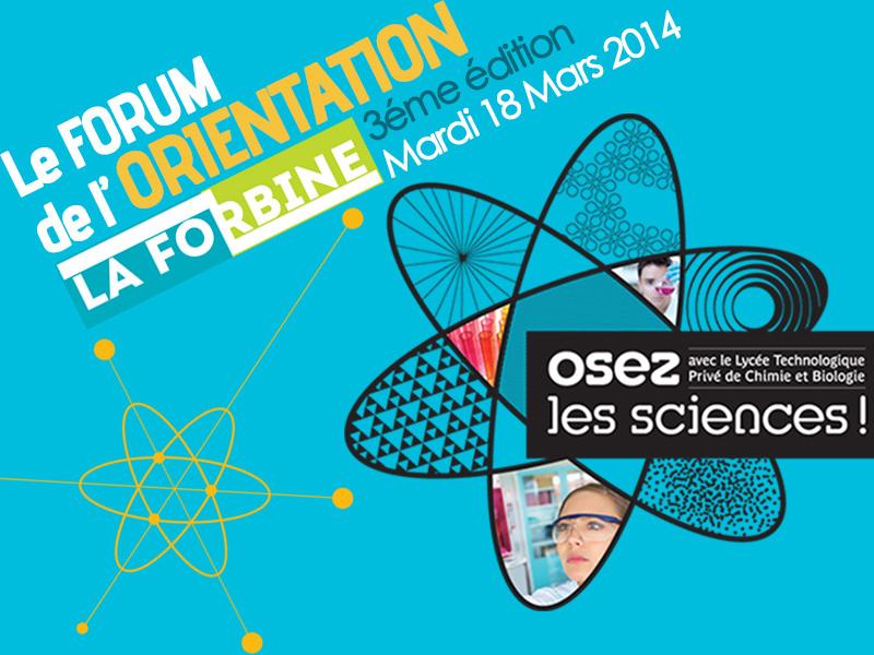 Forum de l'orientation 2014